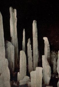 An Ice Pillar,a Cave of Mt Fuji,Japan BIN