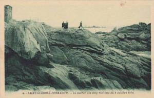 Le Rocher Des Cung Victimes Du 8 Octobre 1876, Saint-Guénolé-Penmarc'h (Fin...