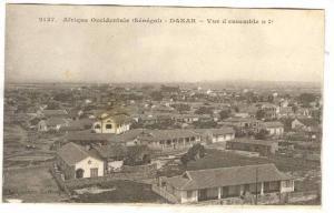 Afrique Occidentale, Vue d'Ensemble N1, (1), Dakar, Senegal, 1900-1910s