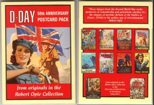 D-Day 50th Anniversary Postcard Pack