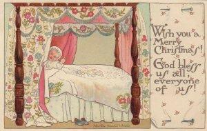 CHRISTMAS , Baby in bed , 00-10s ; Albertine Randall Wheelan