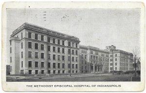 US Indianapolis, Indiana. Methodist Episcopal Hospital.  Stamp #498.  1922 wow