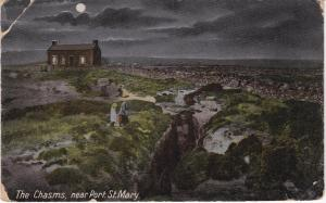 Post Card Isle of Man Port St. Mary The Chasms