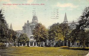 Columbus Ohio OH 1910 Postcard Ohio State School For The Blind