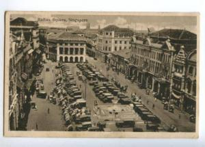 151566 SINGAPORE Raffies Square Vintage postcard