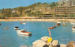 American Airlines ACAPULCO Mexico Beach Hotel 1955 Vintage Postcard