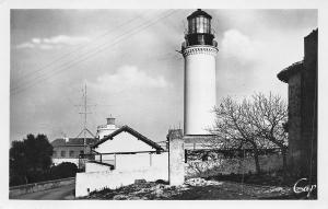 Antibes France~Garoupe Lighthouse~La Phare de la Garoupe~1930s Real Photo~RPPC