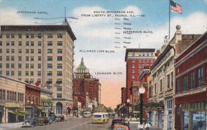 Illinois Peoria South Jefferson Avenue 1946
