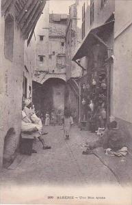 Algeria Alger Une Rue Arabe