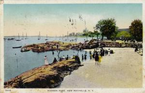 Scenic view, Hudson Park,New Rochelle,New York, PU-1917