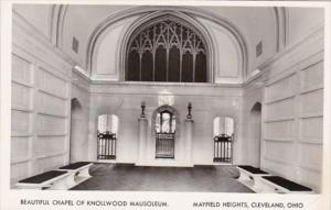 Ohio Cleveland Beautiful Chapel Of Knollwood Mausoleum Mayfield Heights Real ...