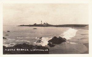 RP: Piedra Blanca LIGHTHOUSE , California  , 1920-30s