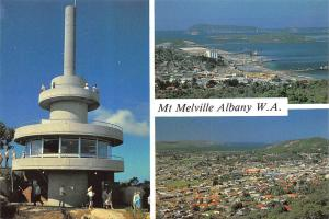 Australia Mt. Melville Albany W.A., tower, centre, harbour, panorama multiviews