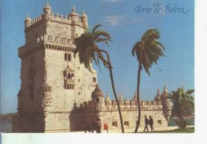 Postal 014128: Torre de Belem, Lisboa, Portugal