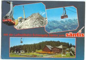 Switzerland, mit der Luftseilbahn Schwagalp-Santis zum Santis, 1991 used