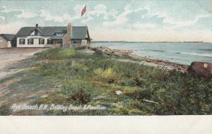 RYE BEACH , New Hampshire, 1901-07 ; Bathing Beach & Pavilion