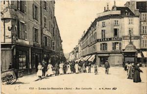 CPA LONS le SAUNIER Rue Lecourbe (447324)