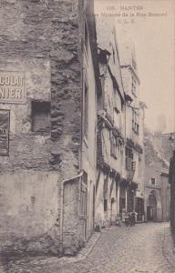 NANTES, Loire Atlantique, France, 1900-1910´s; Vieilles Maisons De La Rue Bo...