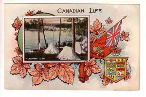 Canadian Life, A Hunter's Camp, Patriotic