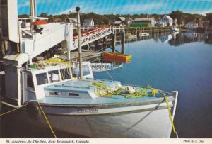 A Historic Harbour, St. Andrews-By-The-Sea,  New Brunswick,  Canada,  50-70s