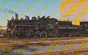 Temsikaming & Northern Ontario Railway Consolidation 137 Class M-3-E Locomotive