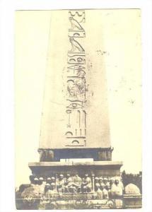 RP; Theodoso Monument, Istanbul , Turkey, 1910s