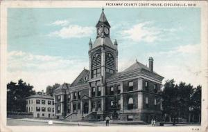 Ohio Circleville Pickaway County Court House 1936