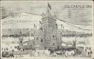 Montreal - 1910 Ice Castle Postcard