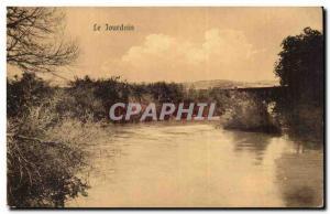 Jordan - Jordan - The Jordan River - Old Postcard