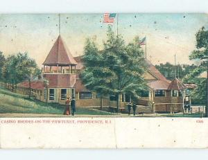 Pre-1907 CASINO Providence Rhode Island RI A0570