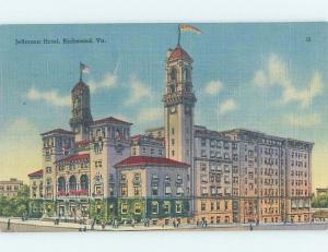 Linen HOTEL SCENE Richmond Virginia VA H1010