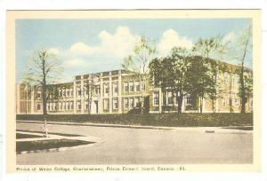 Prince of  Wales College, Charlottetown, Prince Edward Island, Canada, 30-50s