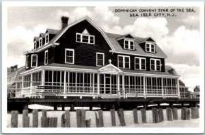SEA ISLE CITY New Jersey RPPC Photo Postcard Dominican Convent Star of the Sea