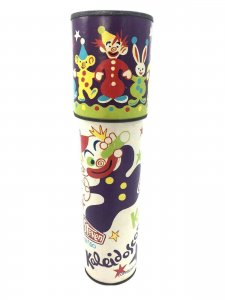 Vintage Steven Kaleidoscope, 1980 Circus Theme Ages 5 and Up Clown Dog
