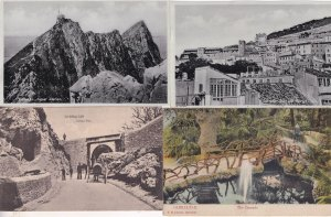 Gibraltar Europa Pass Signal Station 4x RPC & Old Postcard s