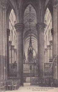 France Rouen La Cathedrale de Rouen Le Pourtour du Choeur