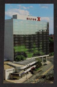CT Parkview Hilton Hotel HARTFORD CONN Postcard Postcard Connecticut