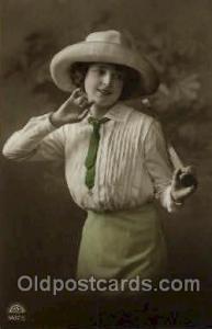 Tennis, Old Vintage Antique, Post Card Postcard