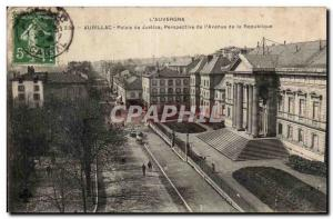 Aurillac - Courthouse - Old Postcard