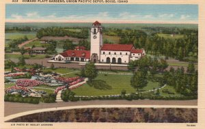 13137 Howard Platt Gardens, Union Pacific Depot, Boise, Idaho
