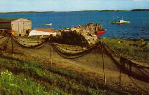 Lobstering, EASTERN SHORE, Nova Scotia, Canada, 40-60´s