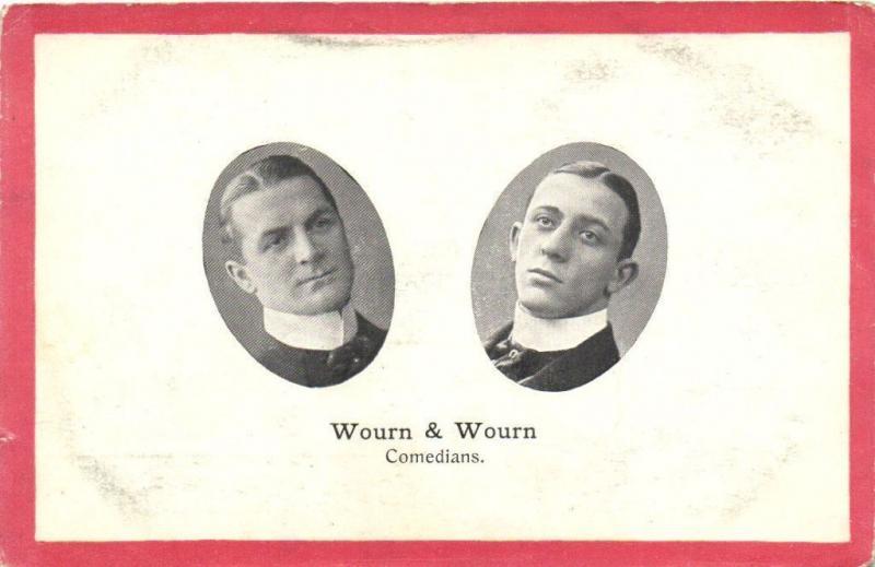 WOURN & WOURN CPA Comedians Artiste Theatre Star (11572)
