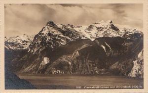Switzerland Vierwaldstaettersee mit Urirotstock Photo