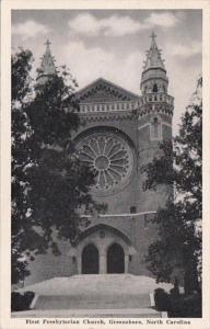 North Carolina Greensboro First Presbyterian Church