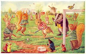 Racey Helps Fantasy~Hockey Match~Dressed Rabbits~Squirrels~First Aid~Medici