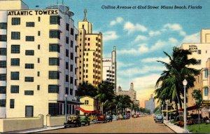 Florida Miami Beach Collins Avenue At 42nd Street