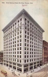 First National Bank Building Denver Colorado 1911