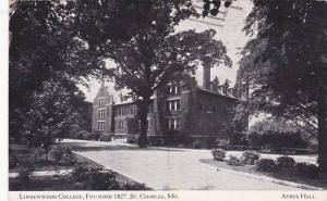 Lindenwood College, Founded 1827, St. Charles, Missouri, PU-1960