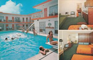 NORTH WILDWOOD, New Jersey, PU-1987; Sand Dollar Motel, Swimming Pool & Rooms