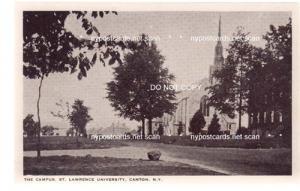 Campus St. Lawrence University, Canton NY